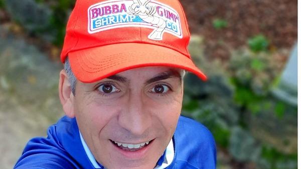 98. Dernier ravito avec Tonio «Gump»