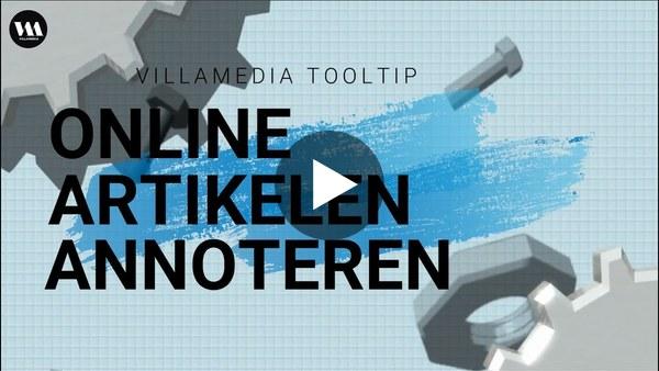 Villamedia Tooltip -  Online artikelen annoteren