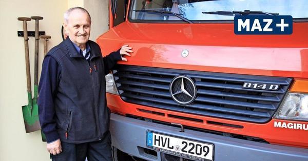 Kienberg: Alexander Schmunk gehört seit 40 Jahren zur Feuerwehr