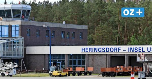 Flughafen Heringsdorf: Eurowings und Luxair haben Usedom-Flüge abgesagt