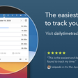 The easiest way to track your time. | Daily