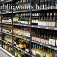 The UK public is overwhelmingly in favour of being told basic nutritional information, alcohol content and the official low-risk guidelines on alcoholic drinks