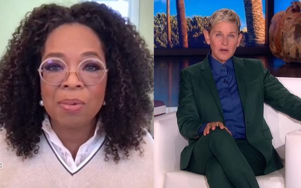 Here's what happened when Ellen DeGeneres sat down with Oprah
