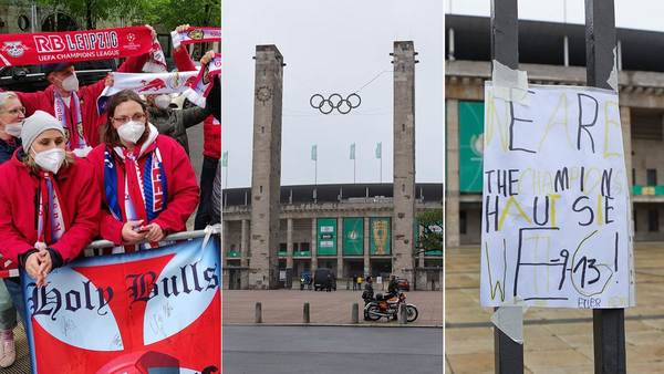 Pokalfinale in Berlin: Viel Symbolik – wenig Fußball-Fieber