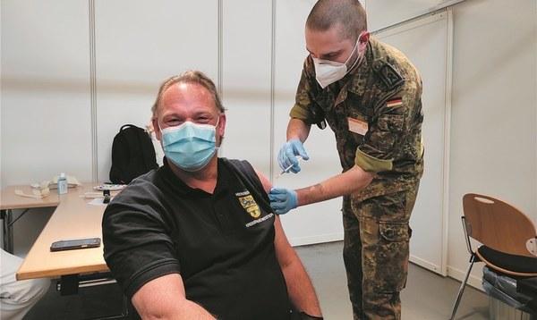 Erste große Feuerwehr-Impfaktion - Heidekreis - Walsroder Zeitung