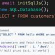 sql.js: Run SQLite on the web.