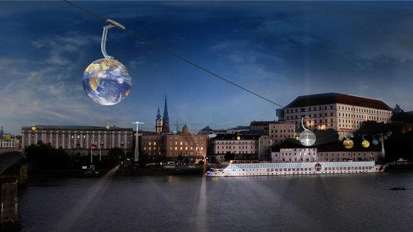 Hambourg réalisera-t-elle le projet de téléphérique de Linz (Autriche) ?