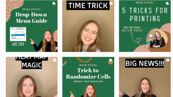 A Microsoft Excel influencer quit her day job and is making 6 figures from her unconventional way of teaching spreadsheet hacks, tips, and tricks