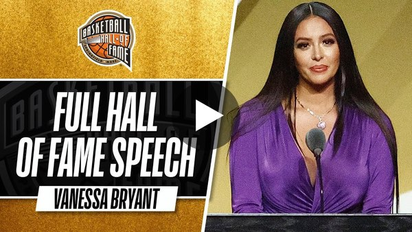 Vanessa Bryant | Hall of Fame Enshrinement Speech
