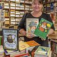 Stölln: Ilona Dahlmann betreibt das Bücher-Antiquariat Windlicht