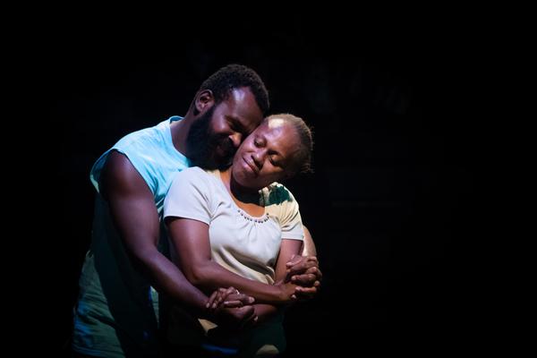 Michael Maki and Virana David as Donald and Esta