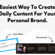 Contentdrips - Easiest Way To Create Daily Content For Your Personal Brand