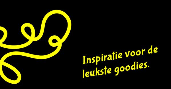 Zoek je inspiratie voor toffe goodies?
