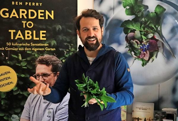 Ben Perry hat inzwischen drei Kochbücher veröffentlicht.