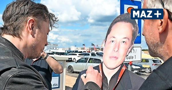 Tesla-Chef Elon Musk rechnet mit Produktionstart in grünheide Endes des Jahres