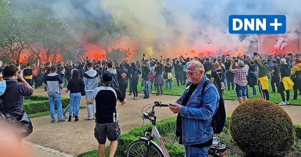 185 verletzte Polizisten nach Spiel von Dynamo Dresden – Angriff auf DNN-Fotografin