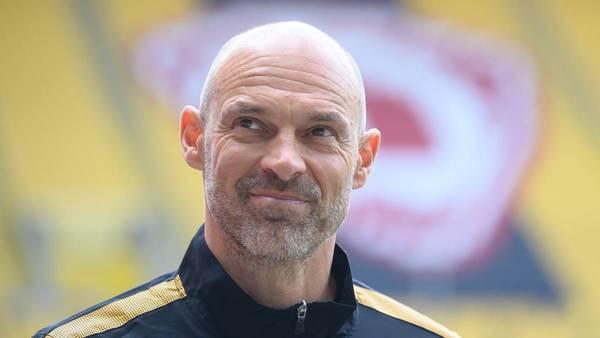 Nach Aufstieg: Schmidt würde gern bei Dynamo Dresden bleiben