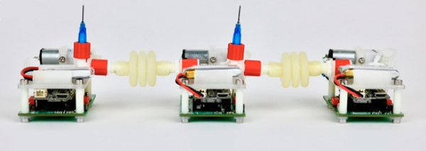 Programming a robot to teach itself how to move