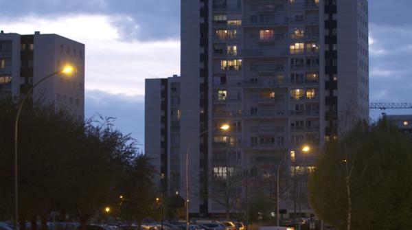Quartier sud de Rennes, près de la rue de la Volga