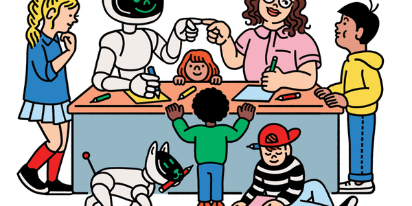 Play this bingo game with your kids to teach them about AI