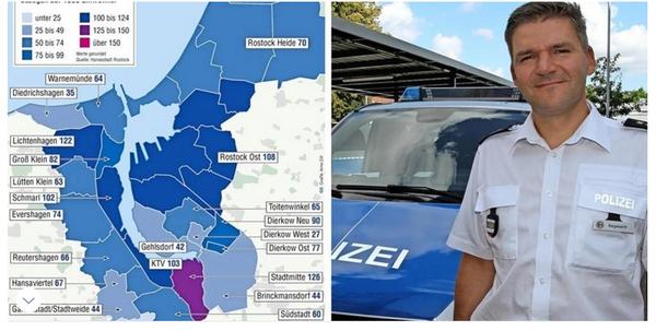 Rostocks Kriminalstatistik: Das sind die sichersten Stadtteile