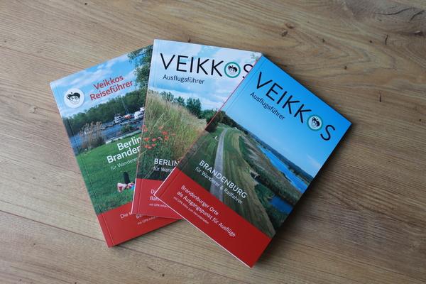 Drei Bände mit Ausflugstipps hat Veikko Jungbluth aus Eichwalde bereits veröffentlicht.