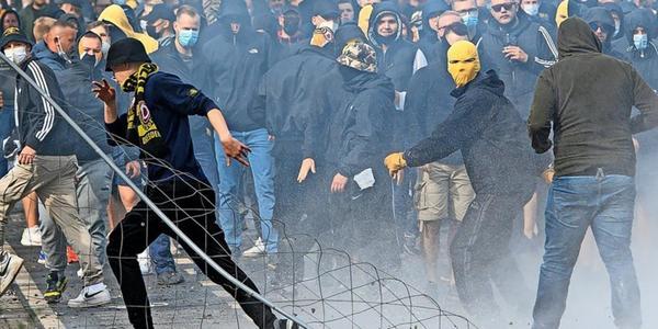 Krawalle nach Dynamo-Aufstieg: Polizei schaltet Hinweisportal
