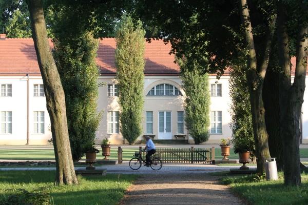 Königlicher, aber nicht pompöser Landsitz in Paretz. (Foto: Marlies Schnaibel)