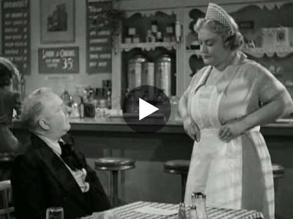 W.C. Fields - The Diner Sketch