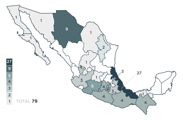 Mapa: Letra ESE