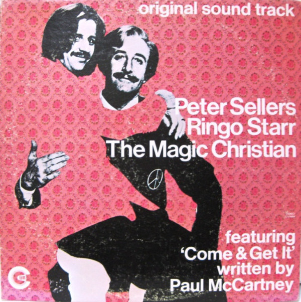The Magic Christian film directed by Joseph McGrath starring Peter Sellers and Ringo Starr, 1969.