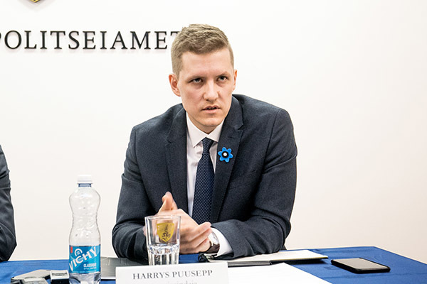 Harrys Puusepp is a senior superintendent at Estonia's counter-intelligence service KAPO.  Photo: Ilmar Saabas / Ekspress Meedia.
