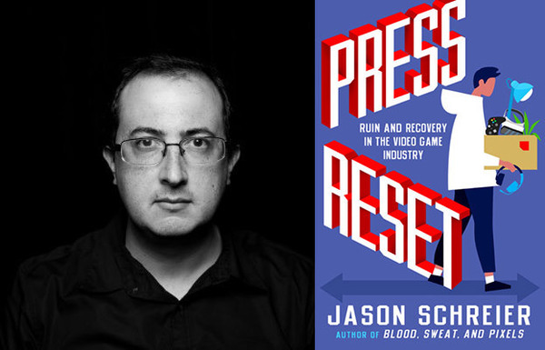 Author Jason and book Press Reset: Ruin and Recovery in the Video Game Industry