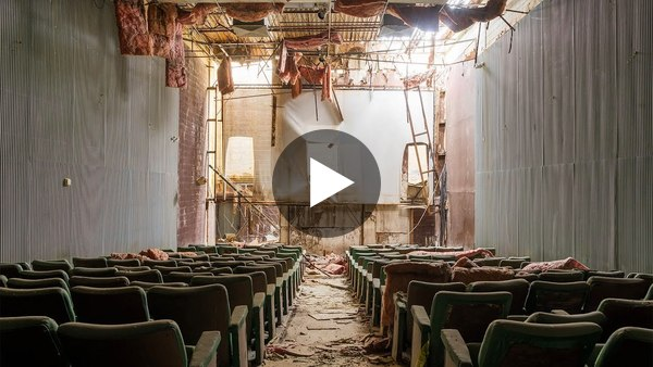Exploring an Abandoned Time Capsule Movie Theater
