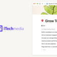 iTech Media's shared workspace keeps daily work connected to their company goals