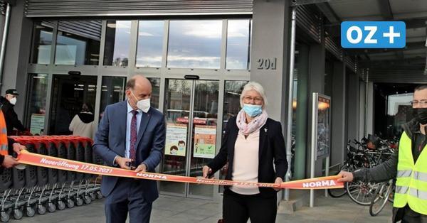 Norma-Markt in Grimmen: So groß war der Andrang zur Neueröffnung