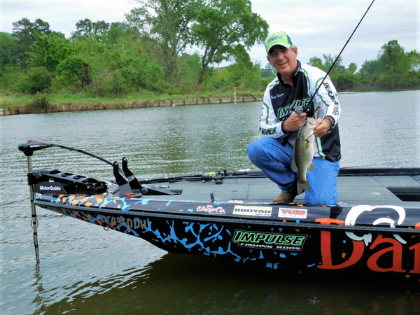 Zell Rowland has made a living on the pro bass circuit using topwater lures.
