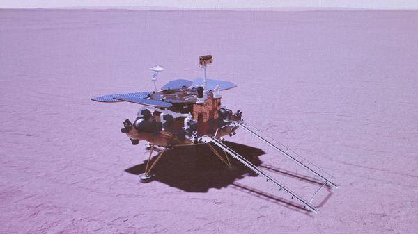 Chinesischer Rover schickt erste Bilder vom Mars