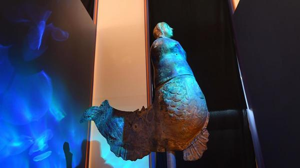 "Au musée De-Puydt de Bailleul, «Le chant des ondes» enfin visible - In het museum De-Puydt in Bailleul is eindelijk ""Het lied van de golven"" te zien"