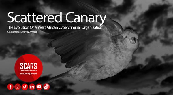 Scattered Canary - The Evolution Of A West African Cybercriminal Organization | SCARS - Special Reports