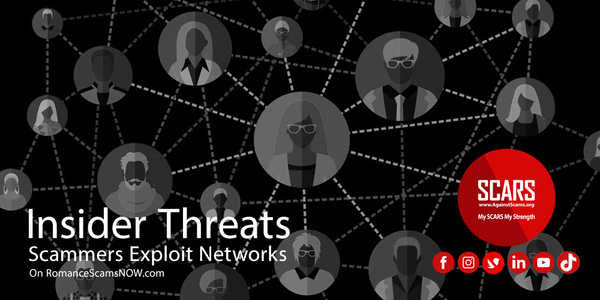 The Insider Threat - The Networks of Scammers | SCARS - Insights