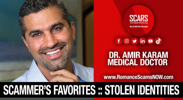 Dr. Amir Karam | Impersonation Victim Galleries