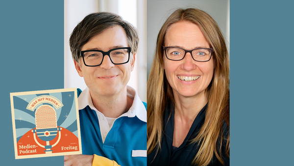Ralph Caspers und Heike Sistig (Fotos: WDR / Annika Fußwinkel / Dirk Borm)