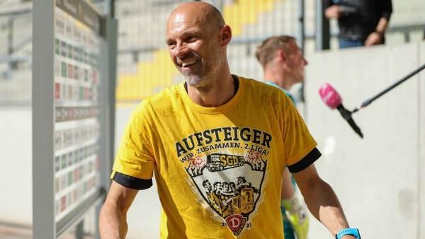 Dynamo Dresden verlängert mit Alexander Schmidt