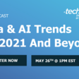Data & AI Trends for 2021 & Beyond | Meetup