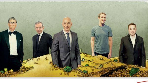 Die Geldspeicher der Superreichen laufen über