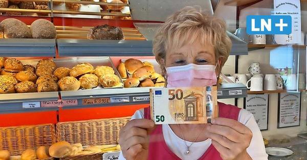 Überraschung in Lübeck: Warum sich ein Mann mit 50 Euro bei Bäckerin bedankte