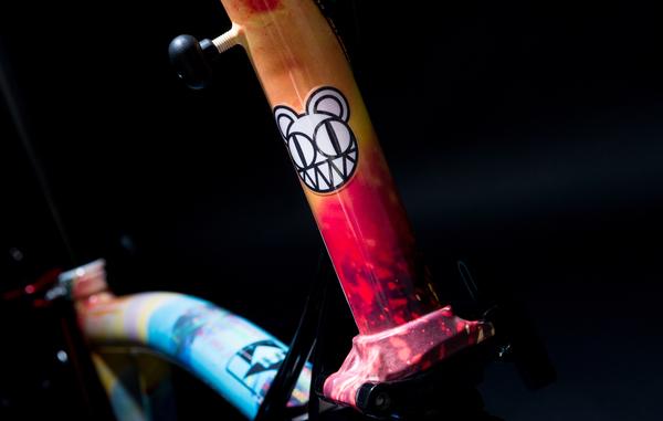 Radiohead, Foo Fighters and more create new custom charity Brompton bicycles