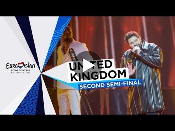 James Newman - Embers - LIVE - United Kingdom 🇬🇧 - Second Semi-Final - Eurovision 2021