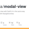 modal-view